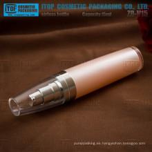 ZB-V15 15ml mini y lindo venta caliente fuerte bomba botella plástico cristal sin aire