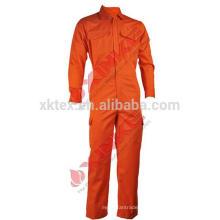 Xinke protectora 240GSM 100% algodón resistente a las llamas Overol