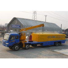 SX-914-610 SUPER ASPAN PROFILE PRODUCING MACHINERY WITH TRUCK AND CRANE