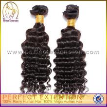 accept paypal deep wave human hair for braiding indian hair weave