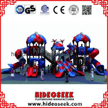 Playground ao ar livre de crianças Commerical com Slide