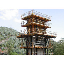 Steel Climbing Formwork System for Concrete Construction