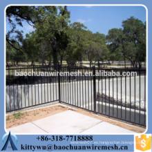 Certificó la puerta certificada de la cerca de metal, certificó la puerta de la cerca de metal, certificó la puerta de la cerca de metal