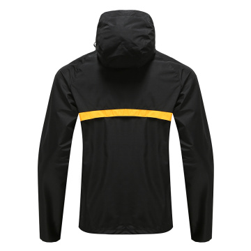 Sweat à Capuche Rugy Wear Zip Up Homme Noir