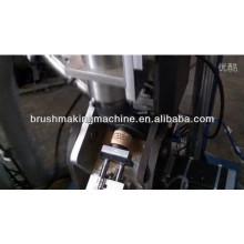 Máquina de perfuração inclinada do furo da escova do jade da limpeza de 4 linhas centrais