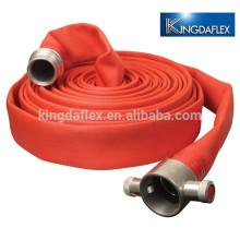 1-дюймовый пожаротушение холст пожарный шланг