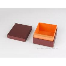 Hochwertige Papier Geschenkbox für Lederprodukte Verpackung