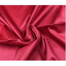 Tejido de punto de poliéster teñido tela de ropa deportiva de color