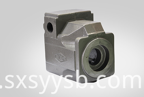 Piston pump castings