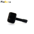 Computer Pc Case Alloy Knurled Thumb Screw