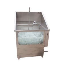 Vet Equipment Clinic Stainless Steel Pet Spa Bath Tub Dog Grooming Tub For Pet