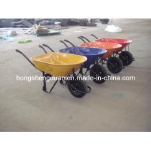 China Lieferant von hochwertigen Wheel Barrow mit Luftrad