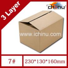 Drei-Schicht-Wellpappe Postkarton / Verpackung Karton / Verpackung Papierkiste (1287)