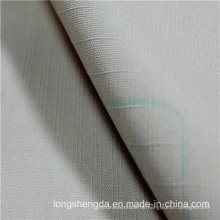 Wasser & winddicht Anti-Static Sportswear gewebt Plaid Dobby Jacquard 100% Polyester Stoff Pfirsich Haut (53142)