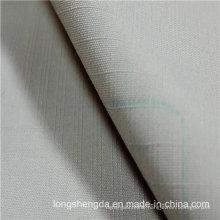 Water & Wind-Resistant Anti-Static Sportswear Woven Plaid Dobby Jacquard 100% Polyester Fabric Peach Skin (53142)