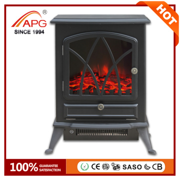 APG Artificial Freestanding Electric madeira lareira de madeira