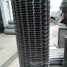 Stainless steel wire mesh modular conveyor belt