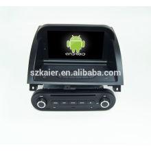 Quad core! DVD de coche con enlace de espejo / DVR / TPMS / OBD2 para pantalla táctil de 8 pulgadas de núcleo cuádruple 4.4 Sistema Android MG 3