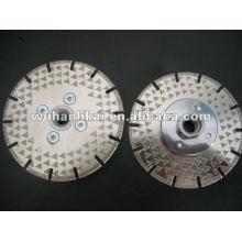 Diamond angle grinder saw blade