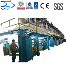 Haute vitesse et haute efficacité BOPP Ruban Jumbo Roll Coating Glue Machine