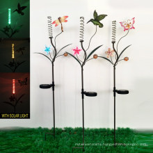 Solar Light Garden Decoration Metal Stake