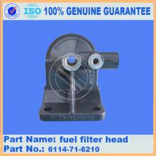 pc300-7/pc360-7/PC400-3/PC400-5 fuel filter head 6114-71-6210