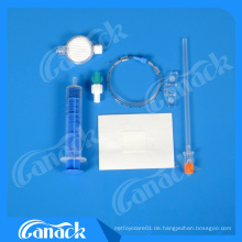Medizinische Lieferantenzertifikate Ce / ISO Disposable Sterile Chirurgische Naht Kit Spinal Set
