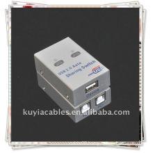 2 Port USB Sharing Switch/2 Port USB 2.0 Auto Sharing Printer Scanner Switch box