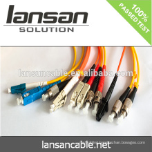 LANSAN high speed 6 core single mode fiber optic cable with fiber optic cable drum