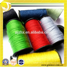 China Supplier and Wholesale 100% 300D 600D 900D 1200D Polyester Embroidery Sewing Yarn