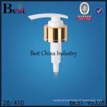 metal soap lotion pump for cosmetics, metal soap lotion pump 28/410