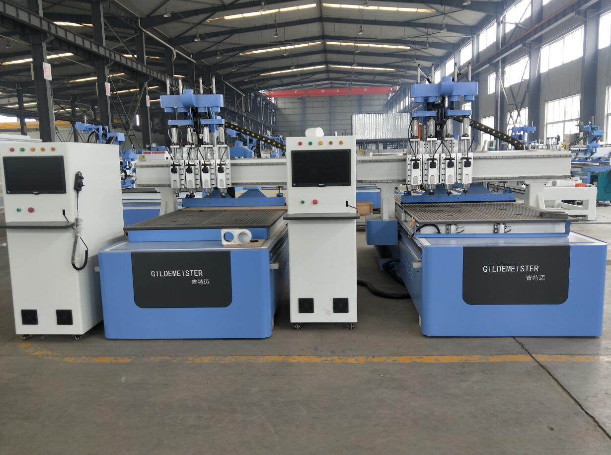 4 heads cnc carving machine