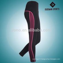 Fournisseur de leggings d'yoga de pleine longueur de coutume active femme personnalisée fournisseur