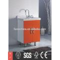 2015 new fashional design modern laundry basket cabinet