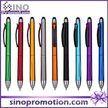 Stylo à bille multifonction / stylo à bille confort avec pointe en caoutchouc