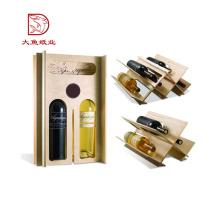 Gute Qualität benutzerdefinierte Logo Einweg Wein Glas Verpackung