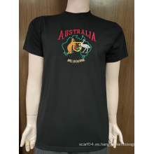 Camiseta 100% algodón para hombre personalizada