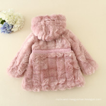 high class children winter clothes duoduo princess pink coats warm jackets soft furs christmas for 2 years old furry girls