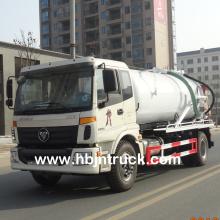 Vacuum Suction Sewage Tank Truck