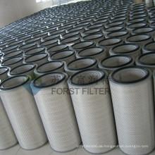 FORST Gute Qualität Gas Turbine Industrial Inlet Filter Kartusche für Staub Collector