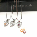 Bricolage Wish Pearl Love Pearl Necklace Surprise Gift