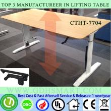 таблицы офиса ноги металла ручная мотылевая регулируемая высота стола в небольших офисных столов Размер