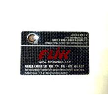 Carbon Fiber Name Card