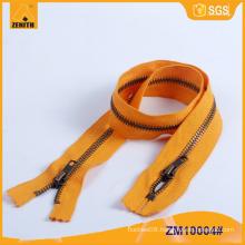5# Fireproof Resistant Brass Zipper ZM10004