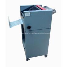 Máquina plegable y encuadernadora automática CX-91