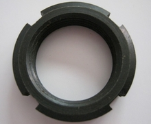 carbon steel slotted nut