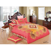 100% algodão cetim Oriental Duvet Cover cama conjunto Twin Full Queen King tamanhos