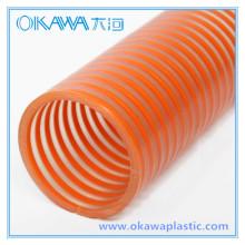 Всасывающий шланг Okawa PVC с оранжевой спиралью