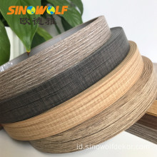 Aksesori Mebel 3mm ABS Wood Grain Edge Banding