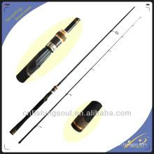 SPR023 canne à pêche combo fibre verre pêche canne à lancer